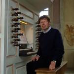 Organist Remy Syrier, Maastricht, Nederland