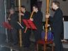 Flanders Recorder Quartet Vier op 'n Rij speelt Bach in de Onze-Lieve-Vrouwekerk van Vosselaar