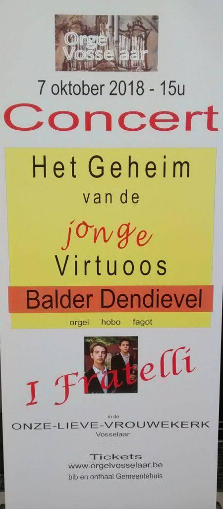 Balder en Jappe Dendievel zijn I FRATELLI