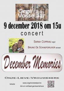 Sarah en Bruno stellen voor December Memories