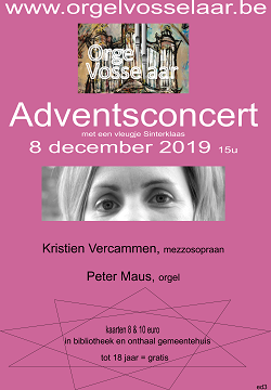 Adventsconcert poster